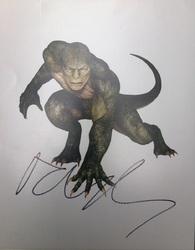 Rhys Ifans Signed The Amazing Spider-man 10x8 Photo