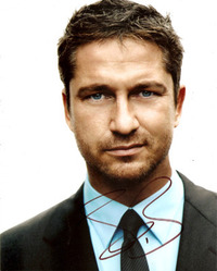 Gerard Butler signed 10x8 photo.