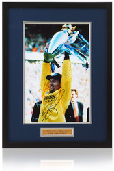 "Tim Flowers hand signed 12x8"" framed Blackburn Rovers Photograph"