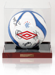 Rangers F.C. 2012/13 Squad Signed Ball