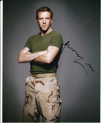 Damian Lewis AUTOGRAPH HOMELAND SIGNED IN PERSON 10x8 photo