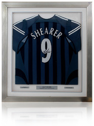 Alan Shearer Match Worn Signed Newcastle Shirt
