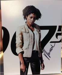 Naomie Harris Autograph SKYFALL 007 signed in person 10x8 photo