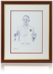 Mike Tindall hand signed art print