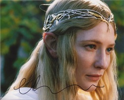 Cate Blanchett Autograph Lord Of The Rings signed in person 10x8 photo