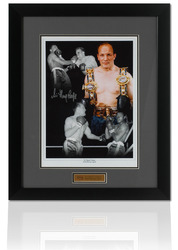 Henry Cooper hand signed Montage