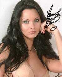Jessica Jane Clement signed 10x8 photo