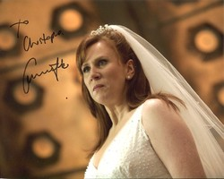 Catherine Tate Autograph Doctor Who signed in person 10x8 photo
