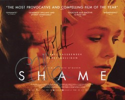 Michael Fassbender & Carey Mulligan AUTOGRAPH Shame SIGNED IN PERSON 10x8