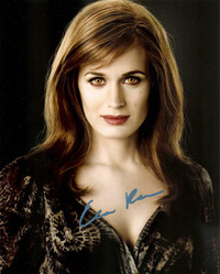 Elizabeth Reaser signed 10x8 photo.