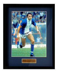 "Trevor Francis Hand Signed 12x8"" Photograph"