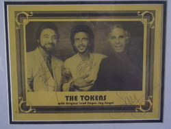 Tokens, The  - authentic autographs