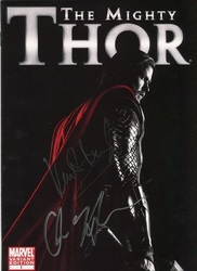 Kenneth Branagh Signed In Person THE MIGHTY THOR Comic Book