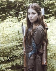Charlotte Hope AUTOGRAPH Game Of Thrones SIGNED IN PERSON 10x8 Photo