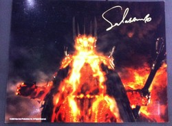 Sala Baker Signed Lord Of The Rings 10x8 Photo
