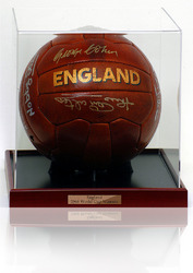 England World Cup 1966 Football Hand Signed