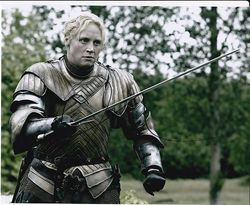 Gwendoline Christie Autograph Game Of Thrones signed in person 10x8 photo