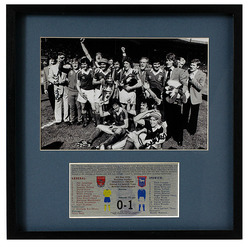 Ipswich 1978 FA Cup Final 1978 presentation hand signed by Sir Bobby Robson