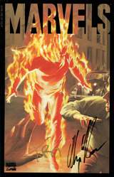 Marvel, Marvels #1 signed by Alex Ross and Kurt Busiek