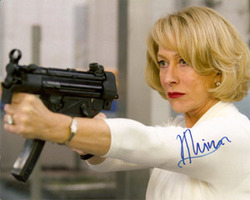 Helen Mirren signed 10x8 photo.