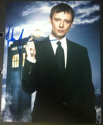 John Simm AUTOGRAPH Dr Who SIGNED IN PERSON 10x8 photo