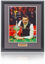 "Mark Selby hand signed 16x12"" Snooker photograph"