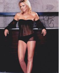 Kim Cattrall AUTOGRAPH SEXY SIGNED IN PERSON 10x8 photo