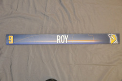 Derek Roy Buffalo Sabres Locker Room Nameplate 2009-10 Season