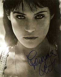 Gemma Arterton signed 10x8 photo.