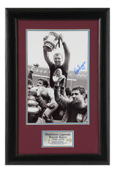 Ronnie Boyce Hand Signed West Ham United photo