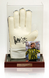 Peter Shilton Hand Signed Goalkeeping Glove