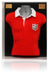 British Lions Rugby Shirt Signed by JPR Williams