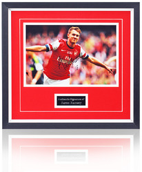 "Aaron Ramsey hand signed 12x8"" photograph"
