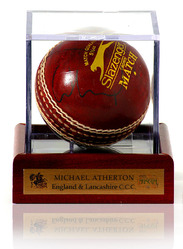 Michael Atherton hand signed cricket ball