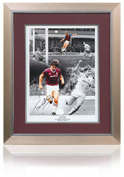 Tony Cottee hand signed West Ham montage