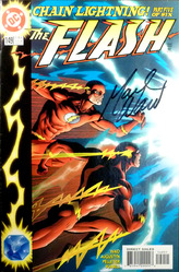 DC, The Flash, Chain Lightning part 5 of 6 signed by Mark Waid