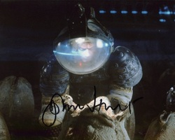 John Hurt AUTOGRAPH Alien SIGNED IN PERSON 10x8 Photo