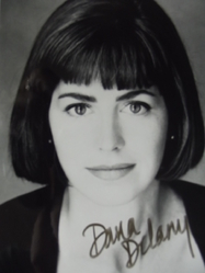 Delany, Dana - authentic autograph - - China Beach - Body of Proof - Castle