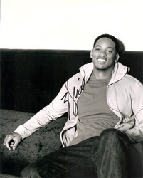 Will Smith signed 10x8 photo.
