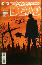 Image, Walking Dead #6 signed by Tony Moore