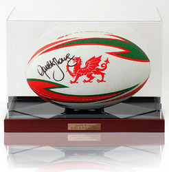 Gareth Thomas Hand Signed Wales Rugby Ball