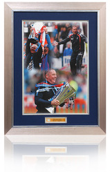 Ally McCoist Hand Signed montage