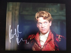 Kenneth Brannagh Signed Harry Potter 10x8 Photo