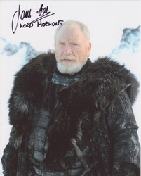 James Cosmo Autograph Game Of Thrones signed in person 10x8 photo