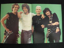 Rolling Stones - Japanese Steel Wheels tour programme. Signed