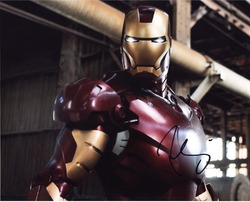 Iron Man 10x8 Photo Signed By Robert Downey Jnr