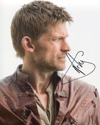 Nikolaj Coster-Waldau AUTOGRAPH Game Of Thrones SIGNED IN PERSON 10x8 photo