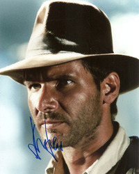 Harrison Ford signed 10x8 photo.