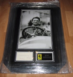 Mike Hawthorn signature