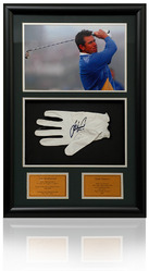 Lee Westwood hand signed Match Worn Golf glove